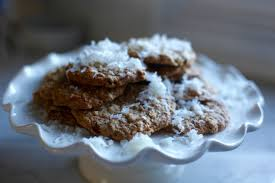 COCONUT OATMEAL COOKIES WITH GOLDEN RAISINS FLAXCHIA SEEDS Dina deleasa dishitgirl