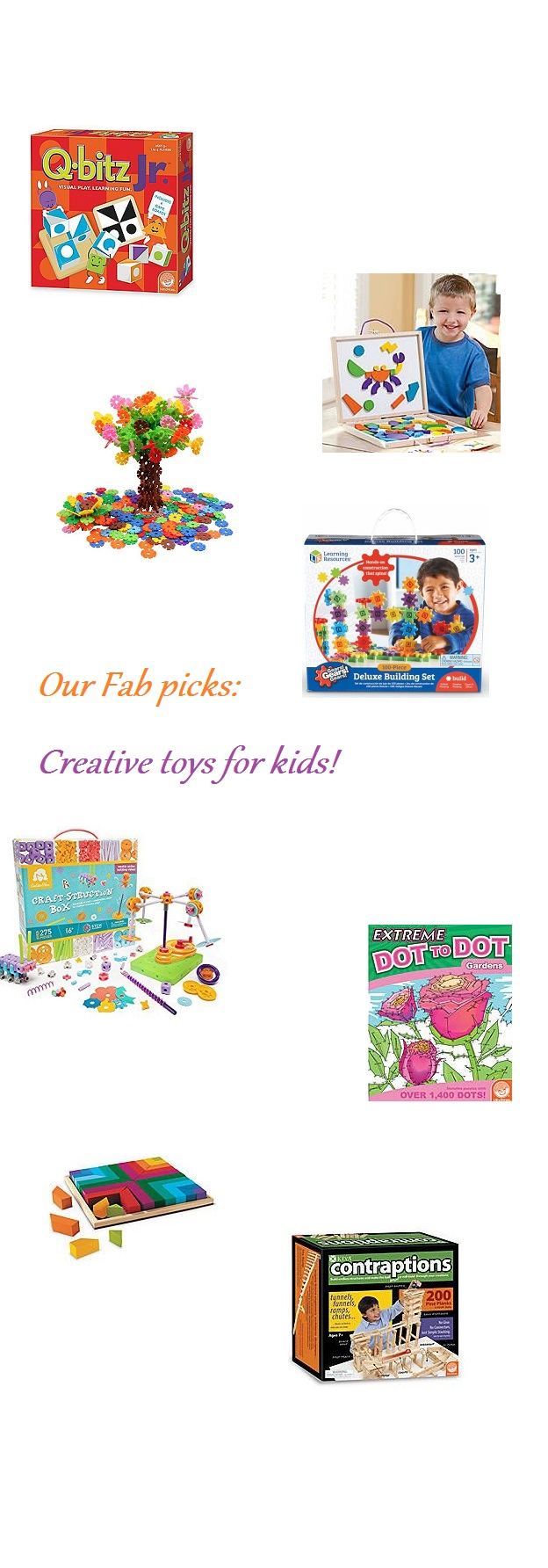 Creative brain toys for kids