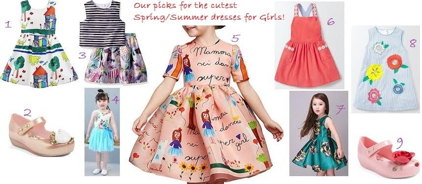 Cutest summer dresses for kids