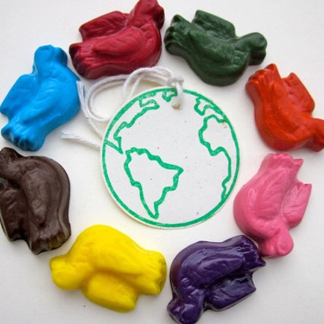 Eco Friendly Back To School Supplies Home grown crayons