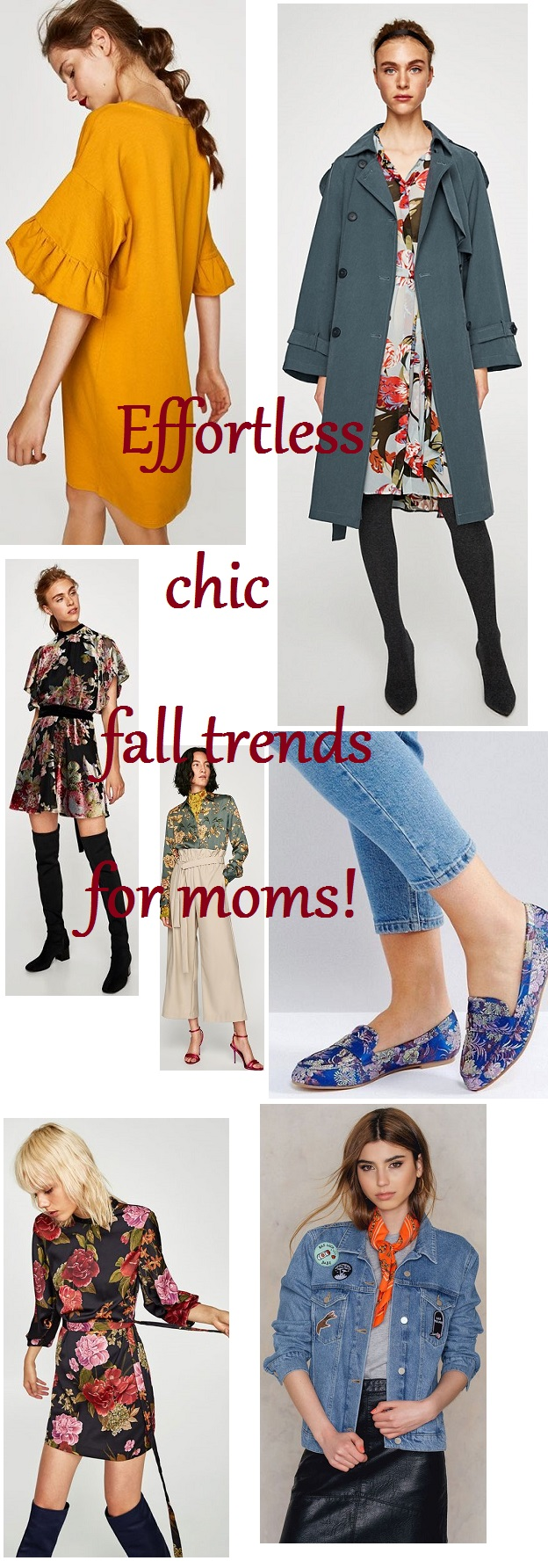 Fabzlist Effortless Fall trends for Moms FALL FASHION