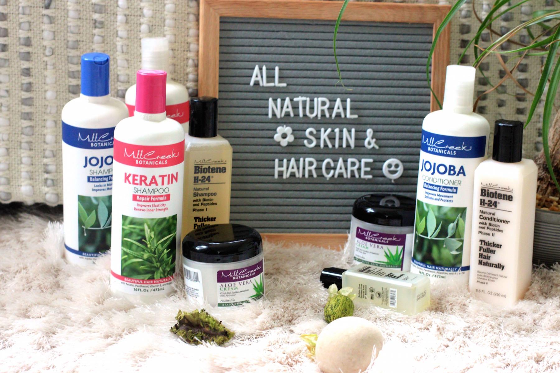 Mill creek botanicals organic skin care
