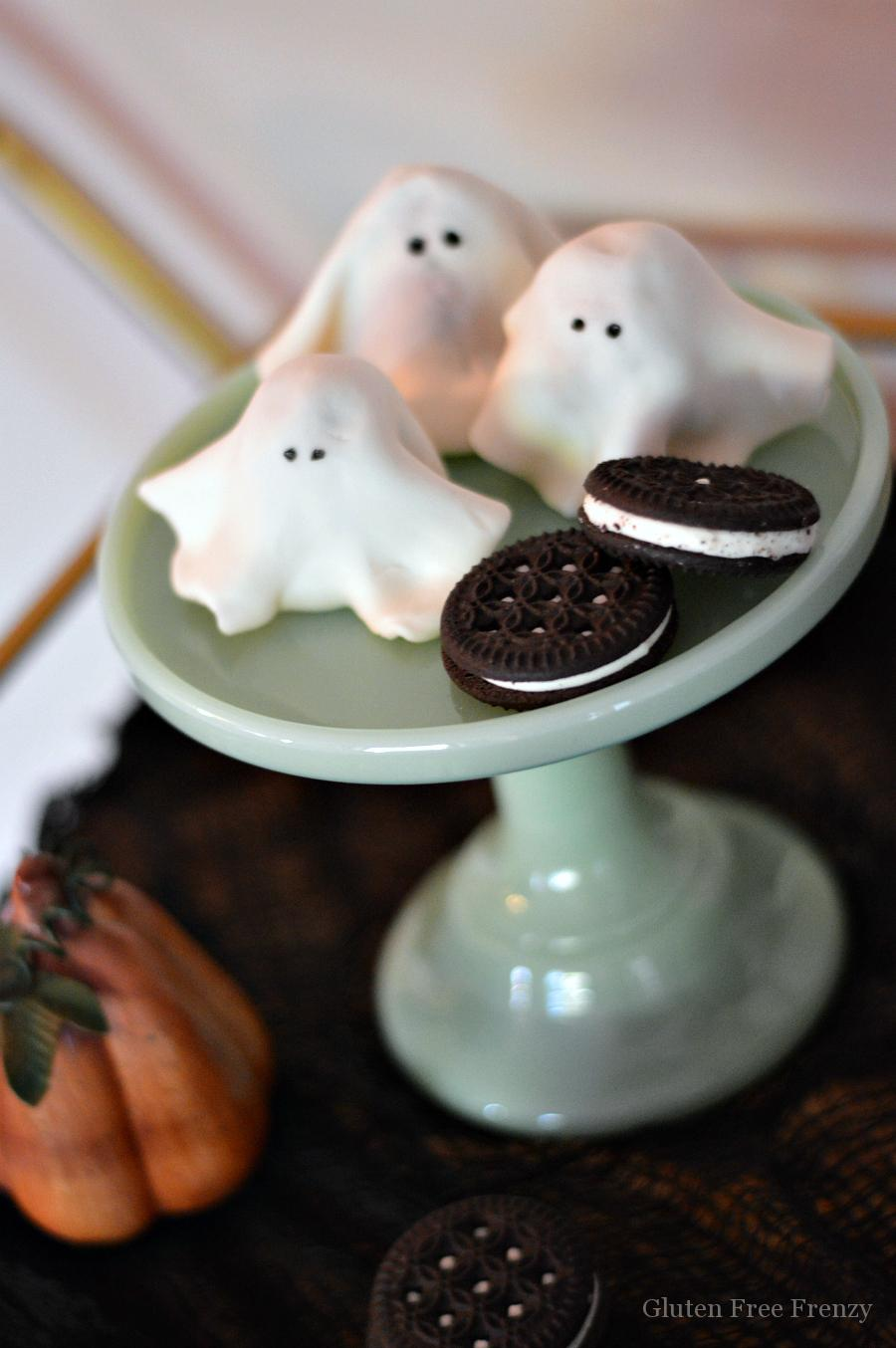 Mini Cookie Ghosts