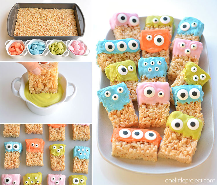 Rice Krispie Treat Monsters Facebook