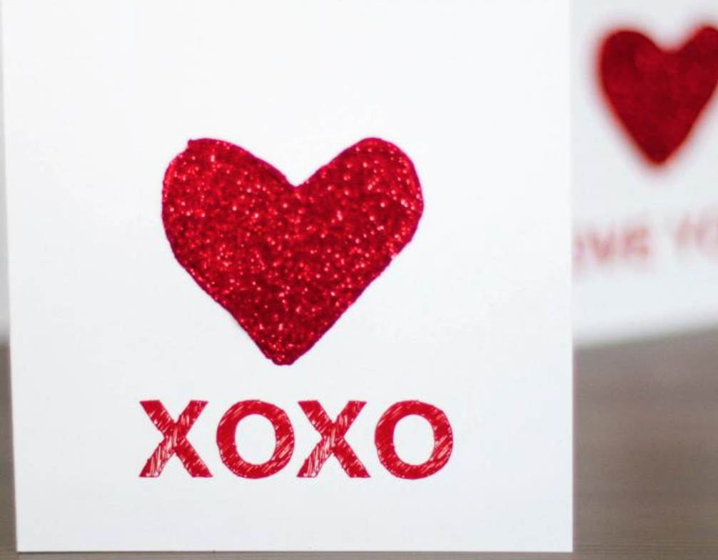 VALENTINES DAY DIY CARD FABZLIST