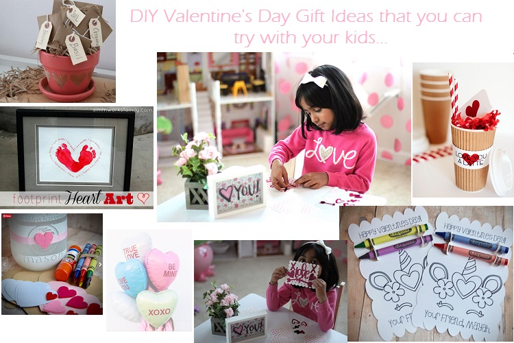 Diy Gift Ideas You Can Try With Your Kids Personalized Valentines
