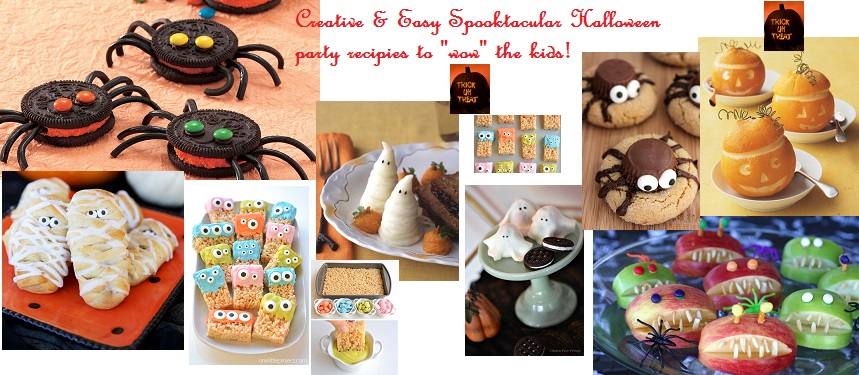 FAB EATS! SPOOKTACULAR KID FRIENDLY AND EASY HALLOWEEN PARTY RECIPIES!