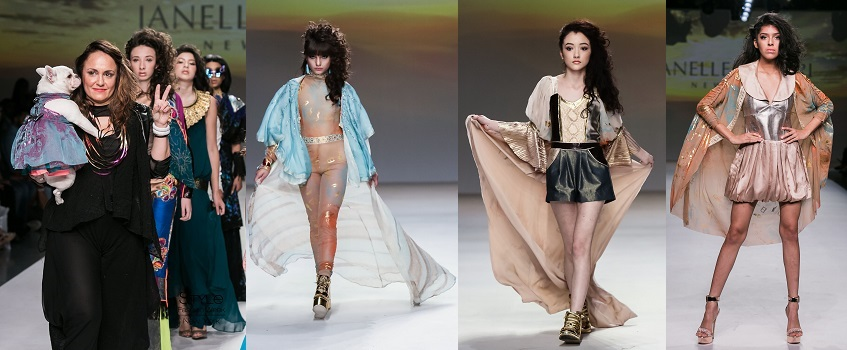NYFW : JANELLE FUNARI EGYPTIAN GODDESS COLLECTION!