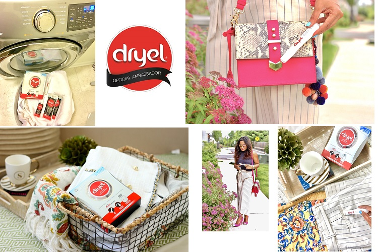 DRYEL- DRY CLEAN ON THE GO! WARDROBE FREEDOM WITHOUT TRIP TO THE DRY CLEANER!